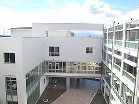 ▲岐阜高校新校舎